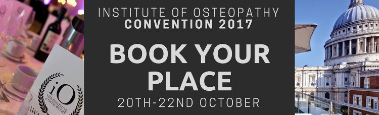 Institute of Osteopathy Convention 2017