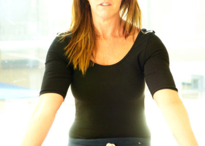 Cherie Lathey. co-director and senior yoga teacher at The Putney Clinic of Physical Therapy.