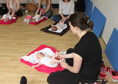 Mums and Babies Clinic at The Putney Clinic of Physical Therapy.