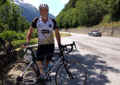 Clive Lathey. Dallaglio Cycle Slam 2014.