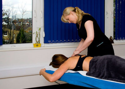 Physiotherapy treatments at The Putney Clinic of Physical Therapy.