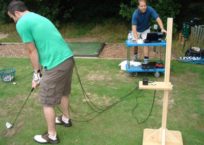 Clive and The Putney Clinic of Physical Therapy team were involved in a Golf Biomechanics study.