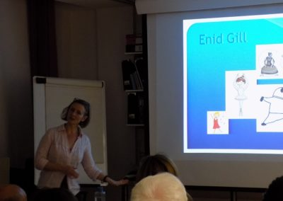 Photo taken during our osteoporosis awareness public educational evening.
