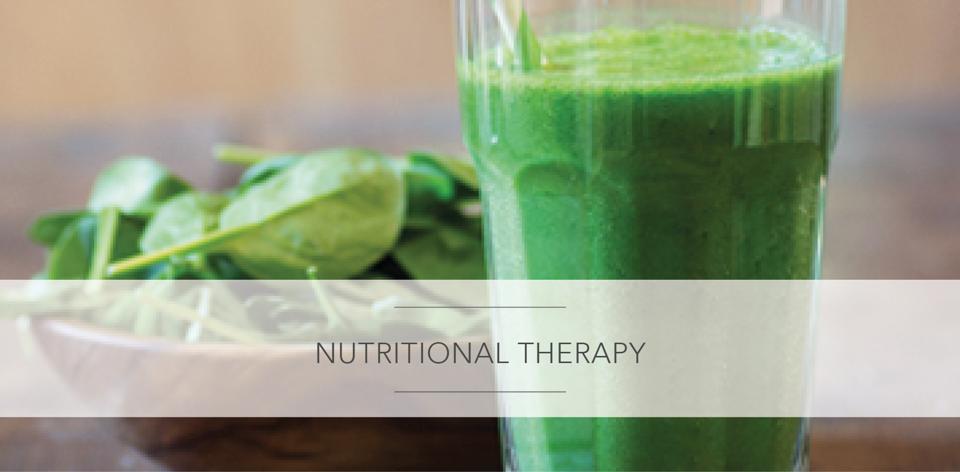 Nutritional therapy at The Putney Clinic of Physical Therapy
