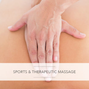 sports and therapeutic massage