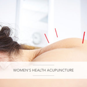 women's health acupuncture