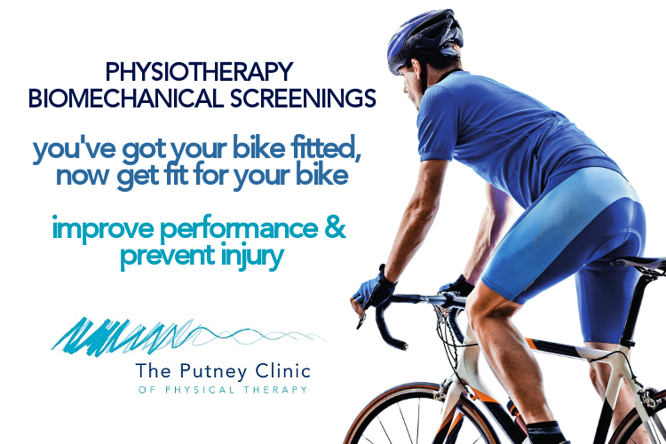 Physiotherapy Biomechanical Screenings at The Putney Clinic of Physical Therapy