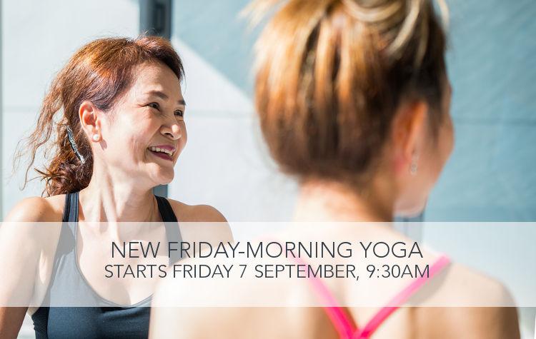 New Friday Yoga Class