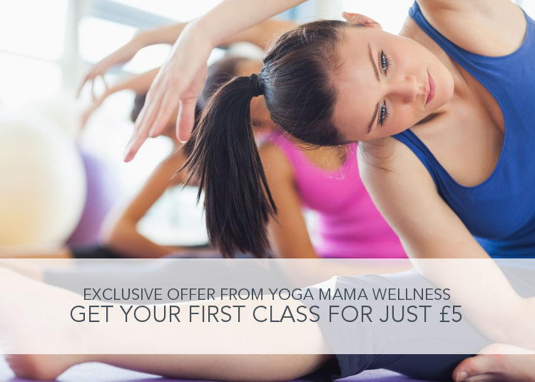 Exclusive Class Offer: Get your first class with Yoga Mama Wellness for just £5