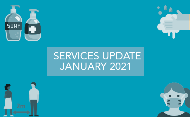 Services Update January 2021